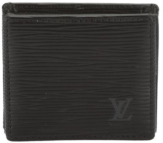Louis VuittonLouis Vuitton Epi Black Porte Monnaie Boite Coin Purse (Pre Owned)