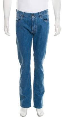 Canali Five Pocket Relaxed-Fit Jeans