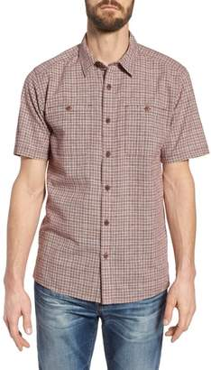 Patagonia 'Back Step' Regular Fit Check Short Sleeve Sport Shirt