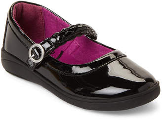 Stride Rite Toddler Girls) Black Brielle Patent Mary Jane Shoes