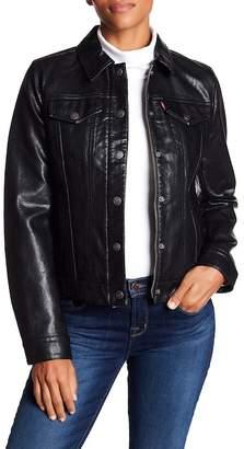 Levi's Laydown Collar Trucker Jacket
