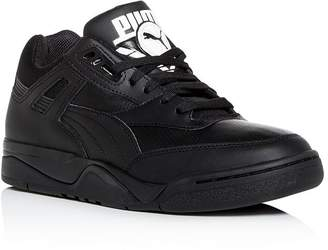 Puma Men's Palace Guard Leather Low-Top Sneakers