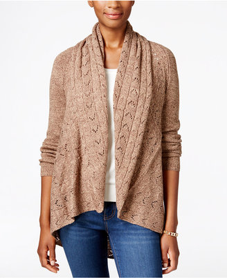 Karen Scott Shawl-Collar Open-Front Cardigan, Only at Macy's $49.50 thestylecure.com