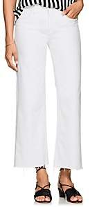 L'Agence Women's Danica Crop Jeans-White