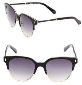 Balmain 52MM Round Sunglasses