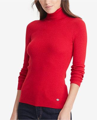 Lauren Ralph Lauren Ribbed Turtleneck Sweater $69.50 thestylecure.com