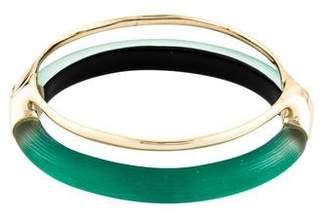 Alexis Bittar Double Band Liquid Hinge Bracelet