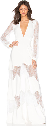 STONE COLD FOX Friar Gown $675 thestylecure.com