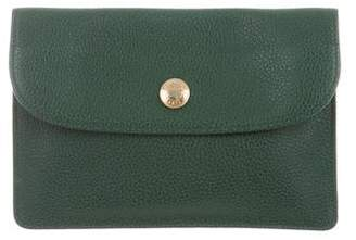 Longchamp Grained Leather Pouch