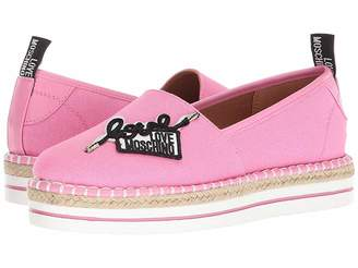 Love Moschino Canvas Espadrille