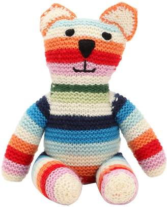 Anne Claire Hand-Crocheted Cashmere Teddy Bear