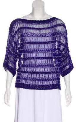 Missoni Semi-Sheer Knit Blouse