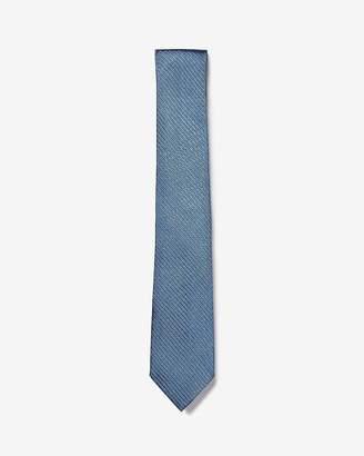 Express Narrow Solid Silk Tie