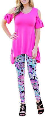 MAYAH KAY FASHION Mayah Kay Fashion Plus Size Leggings (One Size Fits Most)