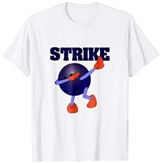 Funny Dabbing Tees - Bowling Ball T-Shirt For Bowlers