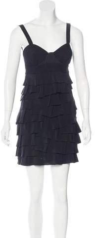 Alexander WangAlexander Wang Bustier Ruffle Dress
