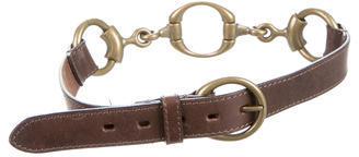 AllSaints Chain-Embellished Waist Belt $65 thestylecure.com