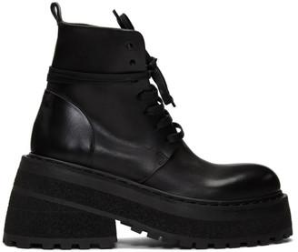 Marsèll Black Carreta Anfibio Boots
