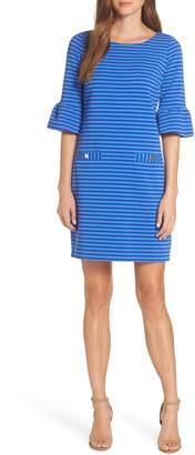 Lilly Pulitzer R) Alden Stripe Ottoman Shift Dress