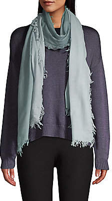 Eileen Fisher Women's Ombre Wool Cashmere Fringe Scarf