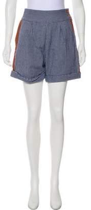 Rachel Comey Striped Mini Shorts