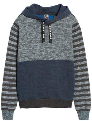 Scotch & Soda Melange Colorblock Hoodie