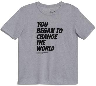 Gilt Exclusive Women's Gilt x Together We Rise: You Began To Change The World Unisex T-Shirt