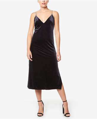 Buffalo David Bitton Velvet Midi Dress