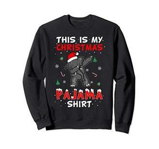 Funny Elephent Dabbing This Is My Christmas Pajama Shirt