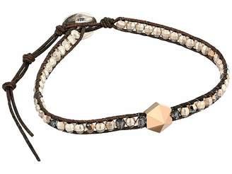 Chan Luu Rose Gold Mix Single Wrap Bracelet