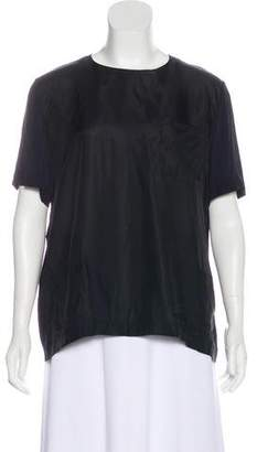 Marni Two-Tone Short Sleeve Top