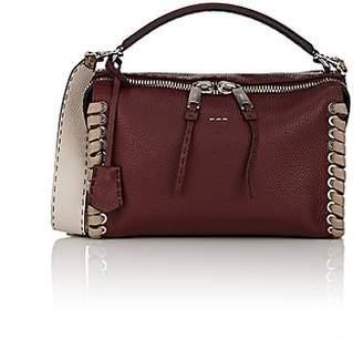 Fendi Women's Lei Selleria Leather Bag - Bordeaux