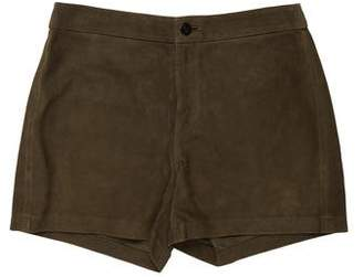 J Brand Suede Mini Shorts