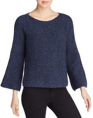 Eileen Fisher Knit Bell Sleeve Sweater