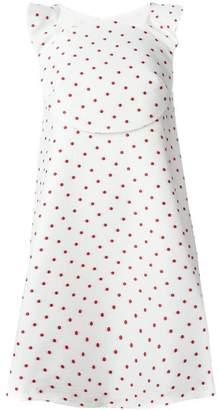 DELPOZO polka dot A-line dress