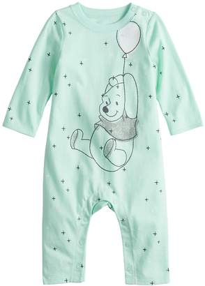 Pooh Baby Disneyjumping Beans Disney's Winnie the Girl Coverall by Jumping Beans