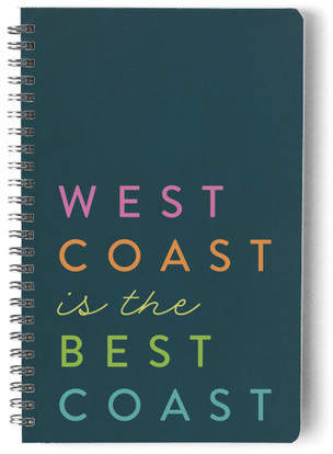 Best Coast Stock Non-Custom Notebook