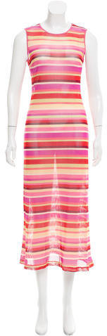 MissoniMissoni Striped Cover-Up Dress