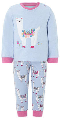 Monsoon Baby Libby Llama Pyjama Set