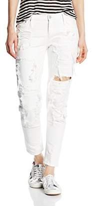 Mexx Women's Boyfriend Jeans - White