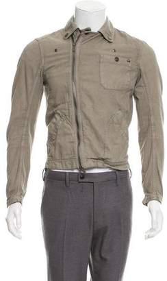 Kenzo Woven Zip-Up Jacket