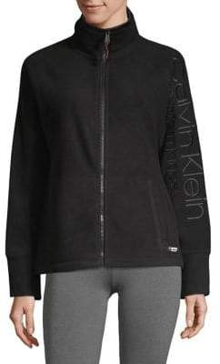 Calvin Klein Logo Full-Zip Jacket