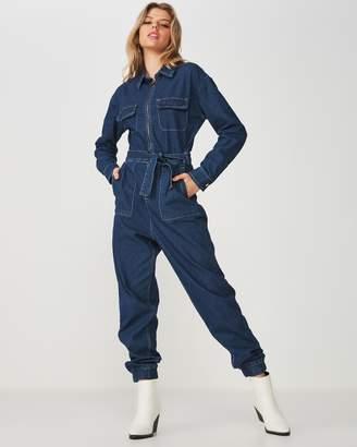 b5cc778604f Denim Boiler Suit - ShopStyle Australia