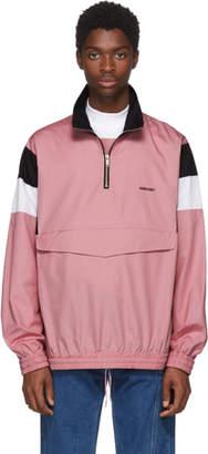 Ambush Pink Track Shirt Jacket