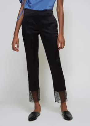 Lanvin Lace Hem Trousers