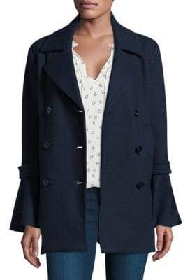 Joie Aeolia Double-Breasted Coat