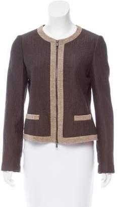 Armani Collezioni Textured Evening Jacket
