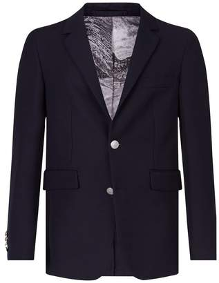 Burberry Gabardine Single-Breast Jacket