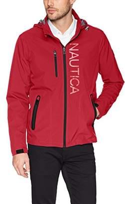 Nautica Men's Hooded Jacket with Logo
