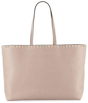 Valentino Rockstud Vitello Tote Bag